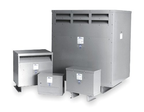 Acme Electric DTGA72S Drive Isolation Transformer, 3 Phase, 60 Hz, 7.5 kVA, 460 Delta Primary Volts, 230Y/133 Secondary Volts, Steel 3 Phase Delta Transformer