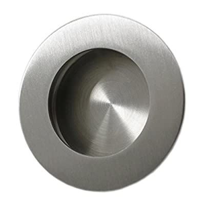 Probrico Recessed Stainless Steel Flush Pull Handles,Round
