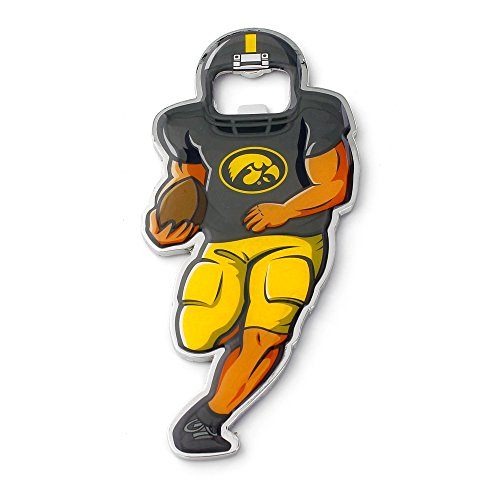 NCAA Iowa Hawkeyes Player Bottle Opener (Iowa Hawkeyes Ncaa Beverage)