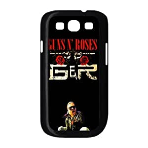 Gators Florida USA-1 Music Band Guns N Roses Print Case With Hard Shell Cover for Samsung Galaxy S3 I9300