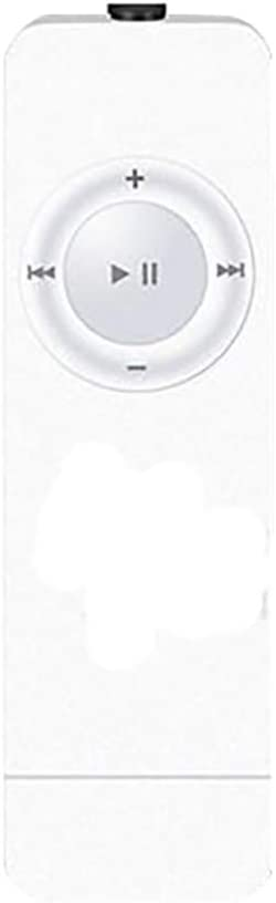 Nourich 80 Stunden FM Radio wei/ß Mini Bluetooth MP3 MP4 Player mit Kopfh/örern HiFi Sport Musik Lautsprecher Media Recorder USB Musikplayer Unterst/ützt von Sportmusik Player