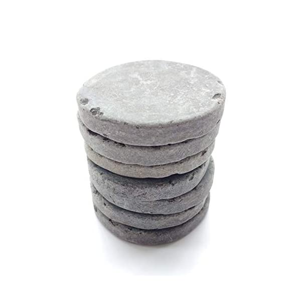 Capcouriers-Flat-Rocks-for-Painting-Natural-Rock-Canvases-Flat-Painting-Rocks-7-Extremely-Smooth-Rock-Canvases-Double-Sided-Painting-Canvases-2-inches-in-Length