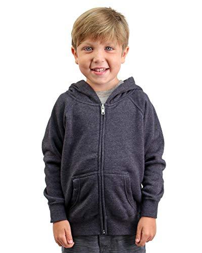 Global Little Kid Hoodie Pockets Soft Sweatshirt Boys Girls Navy Blue Size 5T 6T