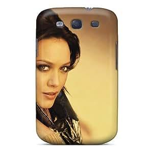 Mwaerke Premium Protective Hard Case For Galaxy S3- Nice Design - Hilary Duff Celebrity