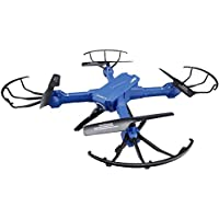 Owill JJRC H38 FPV RC Quadcopter 2.4G 4CH 6 Axis RC Drone 2MP Wide Angle WIFI Camera/Headless Mode Helicopter (Blue)