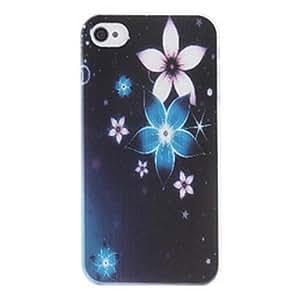 GONGXI-Caso duro del patrón de flores pc hermoso para el iphone 5/5s