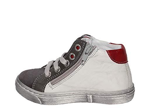 Balocchi Lacci E Sneakers Alta Ghiaccio Zip Pelle In Con rraHq