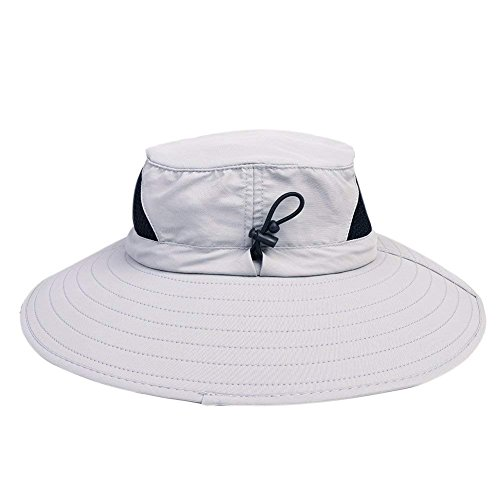 64462cbfe0d WINDCHASER Men s Waterproof Sun Hat Outdoor Sun Protection Bucket Safari  Cap Gift for Safari Fishing Hunting