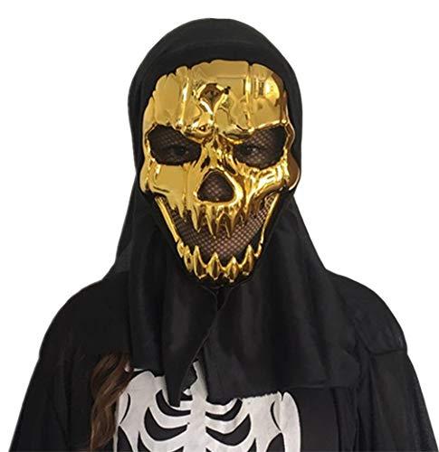 La Vogue Men Black Halloween Balaclavas Mask Call of Duty Ghost Skull Head Mask ()