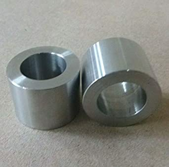 """5//8/"""" ID x 7//8/"""" OD STAINLESS STEEL 303 STANDOFF SPACER SPACERS BUSHINGS 2pcs."""