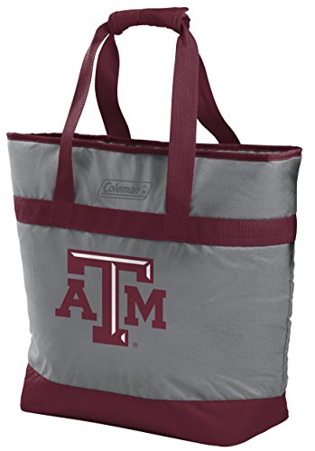 Rawlings NCAA Texas A&M Aggies Unisex 07883061111NCAA 30 Can Tote Cooler (All Team Options), Red, X-Large