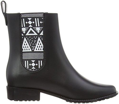 Mel Mel Women's Plum Black Boots Women's gORf7n1f