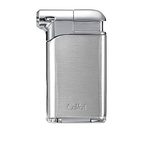 Colibri Pacific Air Soft Flame Lighter - Chrome - Chrome