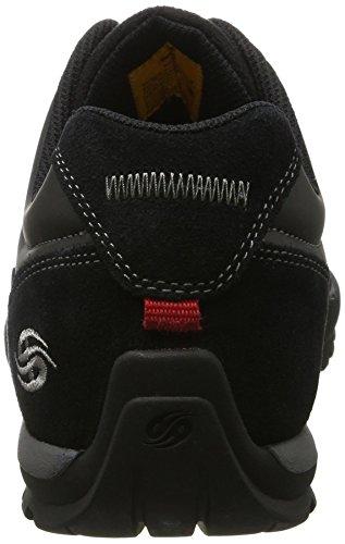Dockers by Gerli 36ht001-204120, Zapatos de Cordones Oxford para Hombre Negro (Schwarz/grau)