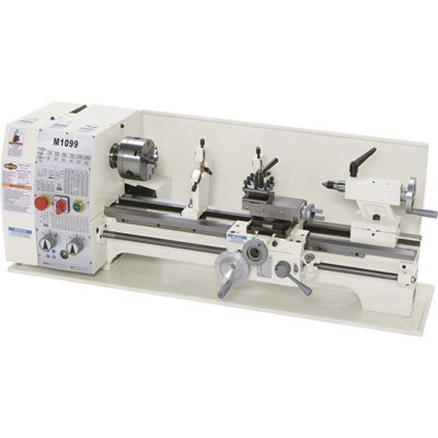 Shop Fox M1099 10 by 26-Inch Bench Lathe , Metal by Shop Fox