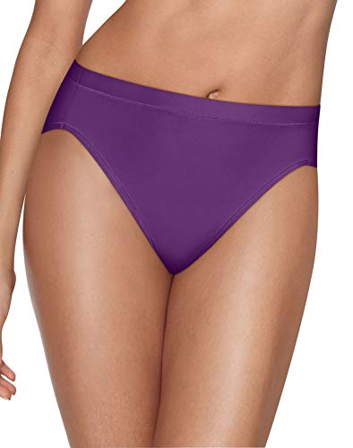 (Hanes Womens Ultimate Cool Comfort 4-Pack Hi-Cut Panties, 7 )