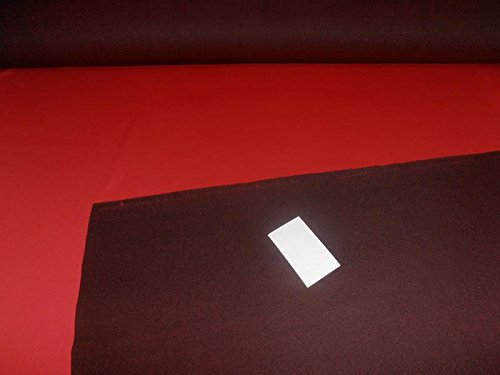 (Red x Wine Two-Tone Scuba Fabric,air Layer Sandwich Fabric for Clothing 58