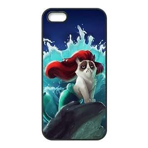 iPhone 4 4s Cell Phone Case Black grumpy cat 002 Rcdyt