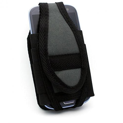 Nite-Ize Cargo Case Rugged Canvas Cover Belt Clip Holster for Tracfone Unimax MAXPatriot U671C - Tracfone ZTE Citrine - Tracfone ZTE Zephyr