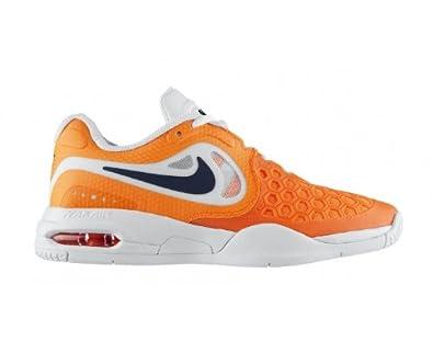 ykilm NIKE Air Max Courtballistec 4.3 Junior Tennis Shoes, Orange, UK3.5