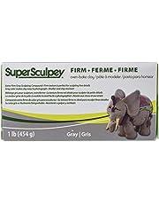 Sculpey SS1SCULPT Super Firm-Gray, 1 Pound