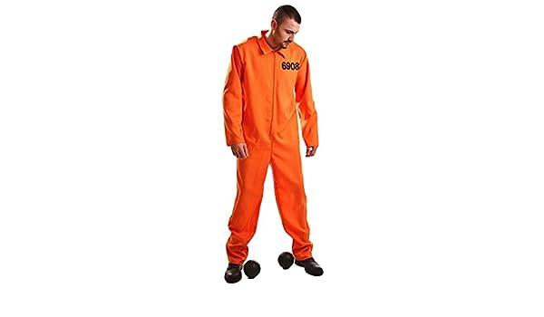 Disfraz de Preso Guantánamo Adulto: Amazon.es: Juguetes y juegos