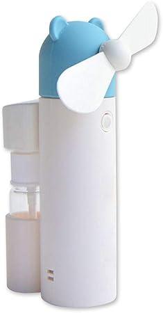 RoSoy Ventilador portátil Mini nebulizador portátil USB Recargable ...