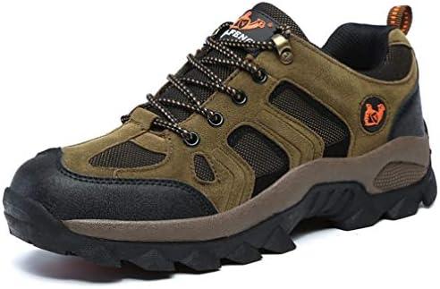 トレッキングシューズ ブラウン メンズ ハイキングシューズ 登山靴 アウトドアシューズ 透湿性 26.5cm 軽量 防滑 厚い底 ローシューズ 23.0cm-29.0cm ハイキング メンズ レディース 登山 アウトドア 耐摩耗性 通気性