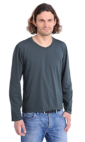 Herren Shirt 1/1 Arm Franz dunkelgrün Schiesser Revival
