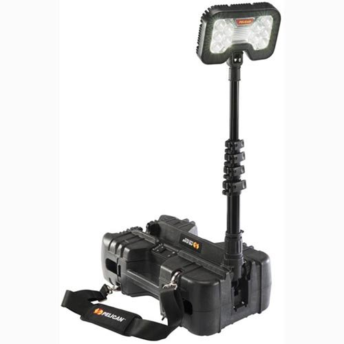 Pelican 9490 | 6000 Lumen Remote Area LED Work Light Black - Pelican Remote