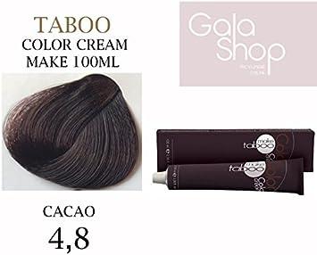 Taboo Color Cream Tinte Permanente para el cabello N.4/8 ...