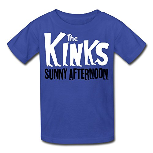 Youth The Kinks Sunny Afternoon T Shirt RoyalBlue (Muswell Hill Halloween)