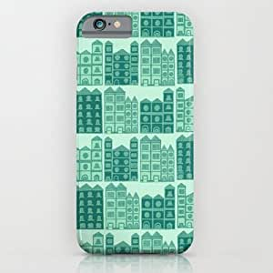 Society6 - Busy Body House Pattern iPhone 6 Case by Stacey Muir