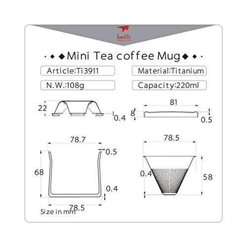 Keith Titanium Ti3911 Ultralight Coffee Maker | Product US