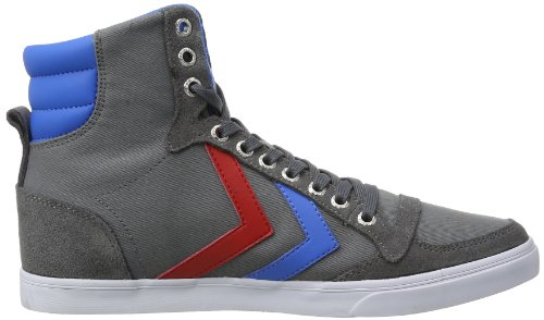 SLIMMER Ribbon HUMMEL lona Castle Brilliant de Gris hombre Zapatillas STADIL para HIGH Rock Blue Red hummel UxaAwfqq