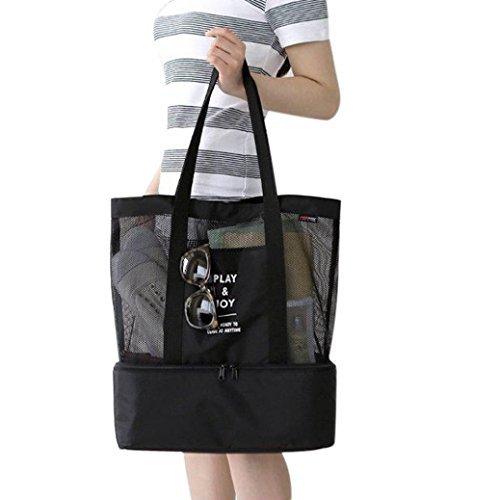 RNTop Lunch Bag Picnic Box Cosmetic Bag for Women Girls Tote Handbag