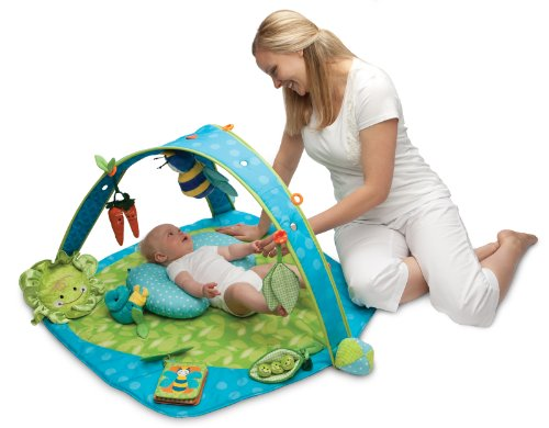 Bon Amazon.com : Boppy EntertainMe Play Gym, Garden Patch (Discontinued By  Manufacturer) : Early Development Playmats : Baby