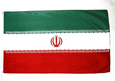 NEW 3x5 ft IRAN IRANIAN FLAG WITH BRASS GROMMETS better quality usa seller