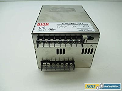 New Mean Well Psp-600-27 100-240v-ac 27v-dc 22.2a Amp Power Supply D392079