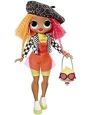 LOL Surprise O.M.G. Neonlicious 559788E7C Fashion Doll, 20 Sorprese