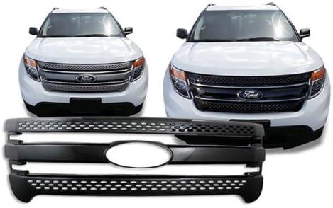 License Plate Bracket For 2011 2012 2013 2014 2015 Ford Explorer Front Plastic
