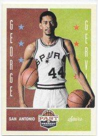 George Gervin 2012-13 Panini Past and Present San Antonio Spurs Card #100