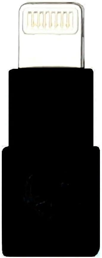 KOKKIA Slim_Lightning_Extender_Black : Tiny, Slim Male to Female Lightning Extender, Compatible with iPhone, iPad, iPod with 8-pin Lightning Connector. Compatible with KOKKIA i10L, 10L_Pro Splitter.