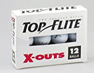 Caddyshack Golf 12-281 12-Pack Top-Flite X-Out Golf Balls - Quantity 1