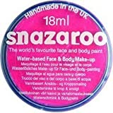 Snazaroo Professional Non Toxic Washable Water Based Reusable Kids Fun School Fete Face Paint Pots Over 30 Colours (18ml Bright Pink)