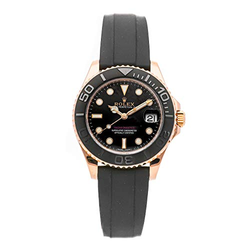 - Rolex Yacht-Master Mechanical (Automatic) Black Dial Mens Watch 268655 (Certified Pre-Owned)