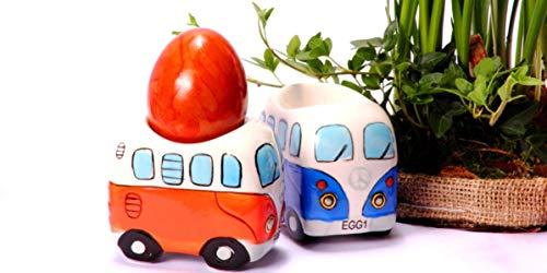 418y16jeF8L Camper Bus 4-TLG. Eierbecherset aus Keramik in 4