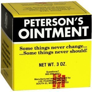 (PETERSON'S OINT JAR 3OZ PartNo. 2355868920 by,OAKHURST COMPANY by Petersons Ointment)