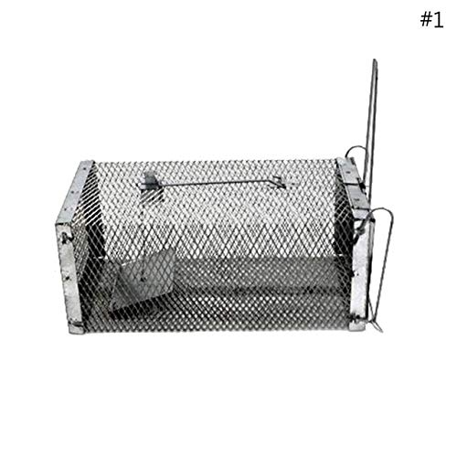 Animal Mouse Mice Catcher Trap Humane Live Trap Mice Rat Control Catch Bait Hamster Cage   1