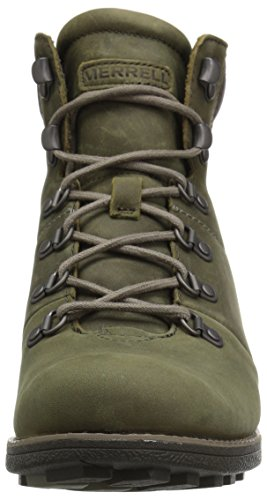 Boot Mid Chateau Women's Snow Merrell Olive Waterproof Dusty Lace YznWS667